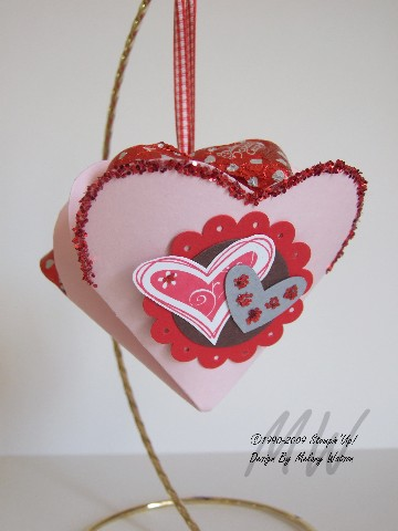 Double Heart Basket