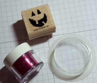 Treat cup stamp supplies