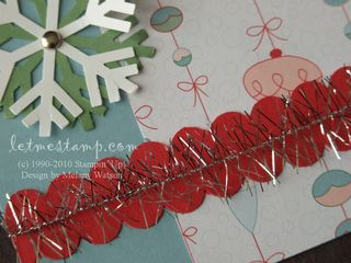 Candy Cane Layout CU by Melany Watson