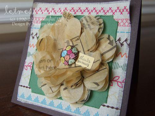 Pattern Flower by Melany Watson