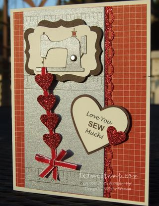 Love Sew Much Shiny by Melany Watson