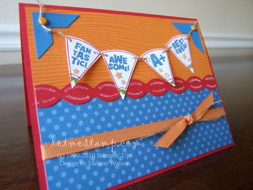 Pennant Card by Melany Watson