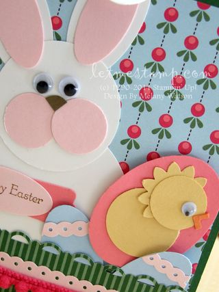 Easter Buddies Card CU by Melany Watson