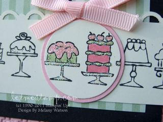 Birthday Bakery Card CU by Melany Watson