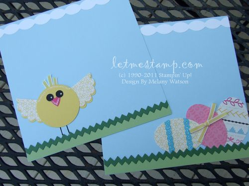 Easter Chick CU by Melany Watson