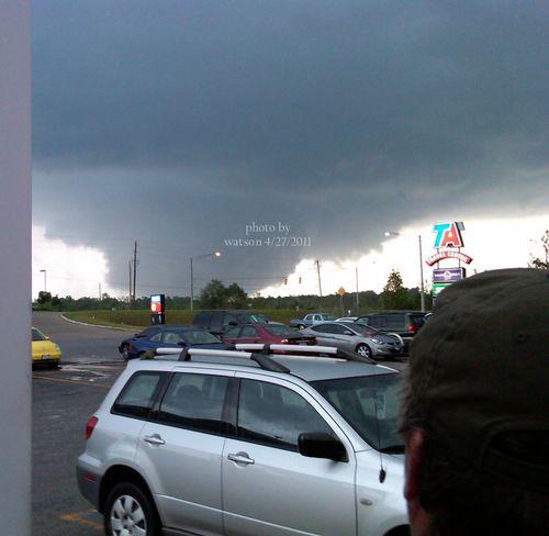Tuscaloosa Tornado by watson