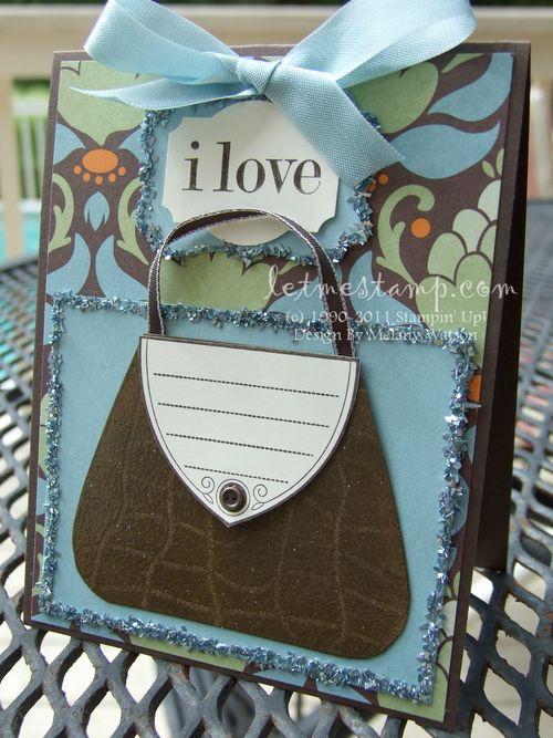 I Love Purses  by Melany Watson