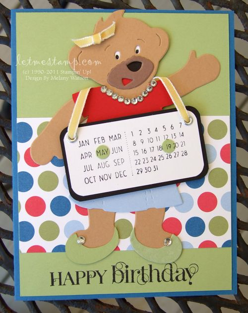 BAB Birthday Card by Melany Watson