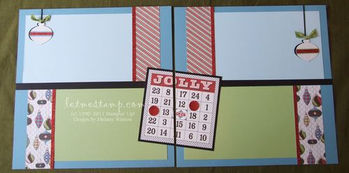 Letters To Santa Bingo Layout by Melany Watson