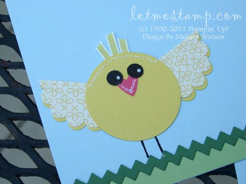 Easter Chick Layout by Melany Watson