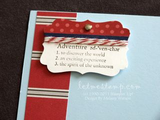 Travel Log 6x6 CU by Melany Watson