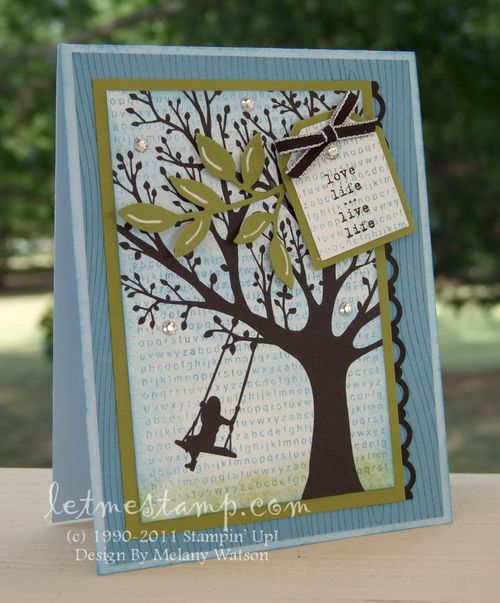 Forever Young Card by Melany Watson