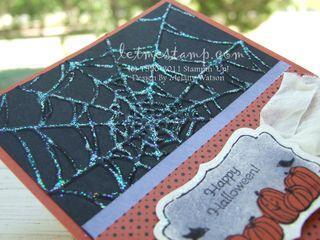 Spooky Web Card CU by Melany Watson