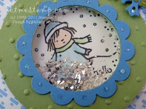Gift Givers Shaker Card CU by Melany Watson