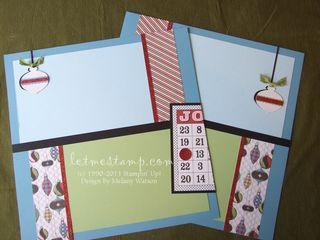 Letters To Santa Bingo Layout 2 by Melany Watson