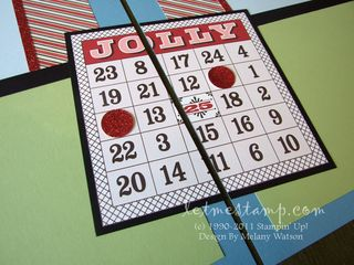 Letters To Santa Bingo CU Layout by Melany Watson