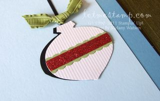 Letters To Santa Ornament by Melany Watson